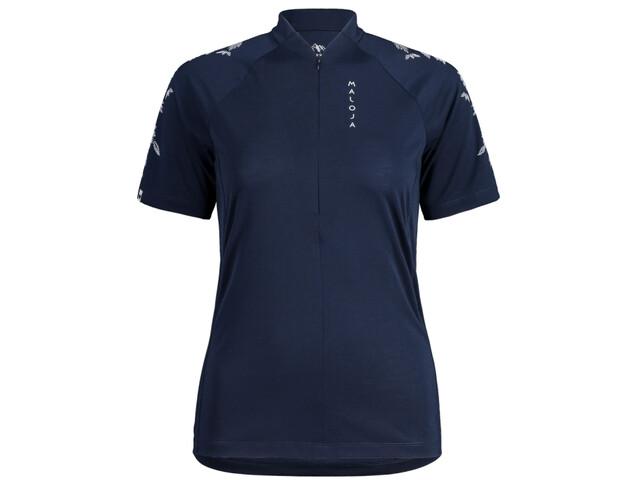 Maloja CuragliaM. All Mountain 1/2 T-shirt à manches courtes Homme, night sky
